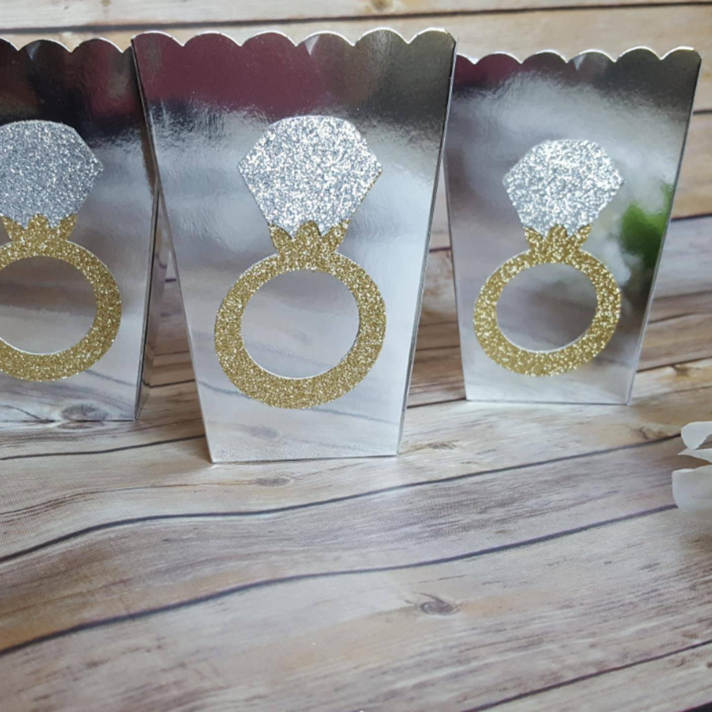 10 Gold Or Silver Glitter Diamond Ring Themed Favor Boxes. Belly Rings. Gold Chinese Wedding Rings. Boy's Engagement Rings. Steel Engagement Rings. Cushion Halo Rings. Middle Rings. Winnie The Pooh Engagement Rings. Date Wedding Rings